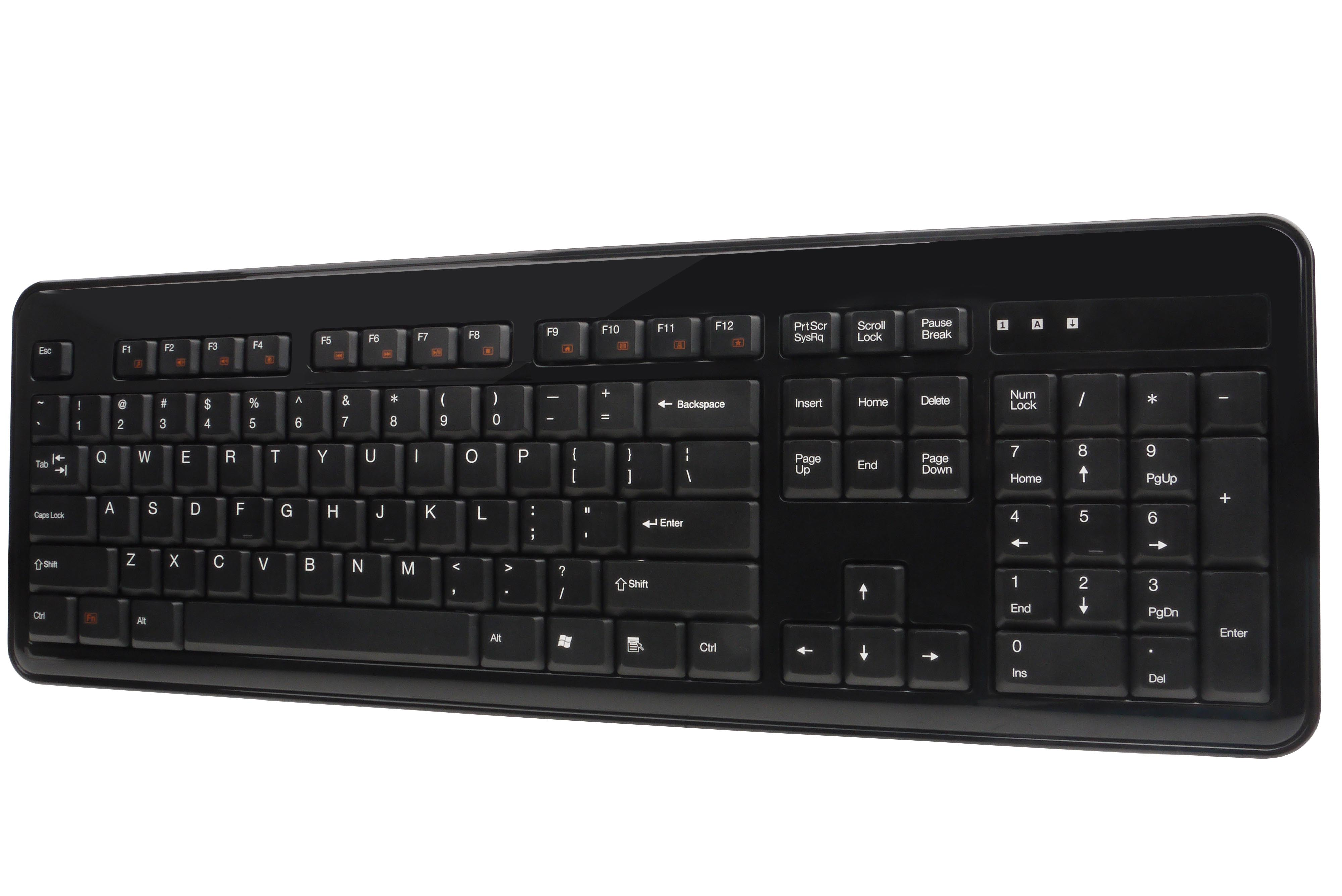 Cool designed pc wired keyboard