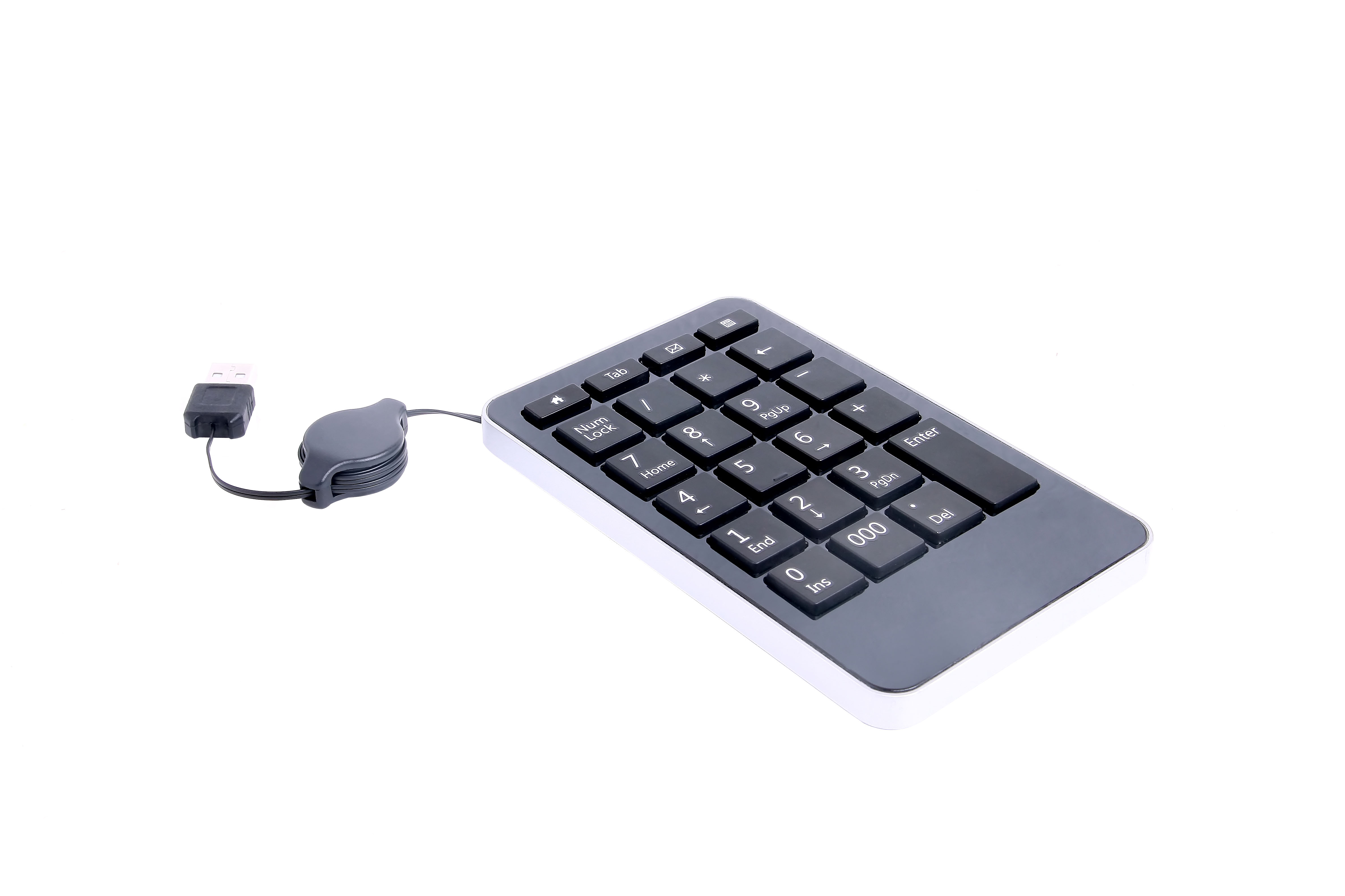 Wired Mini USB Numeric keyboard with LED Light